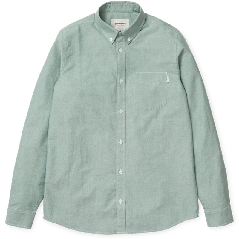 Carhartt Longsleeve Button Down Pocket Shirt Mojito
