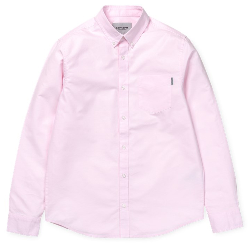 Carhartt Longsleeve Button Down Pocket Shirt Vegas Pink
