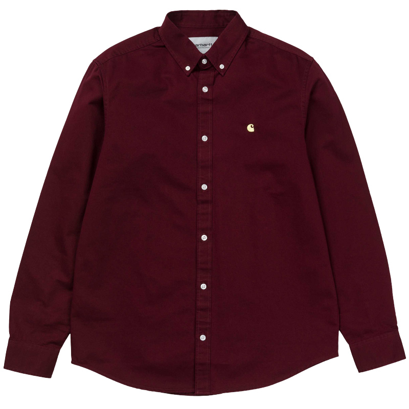 Carhartt Madison Longsleeve Shirt Amarone/Beam