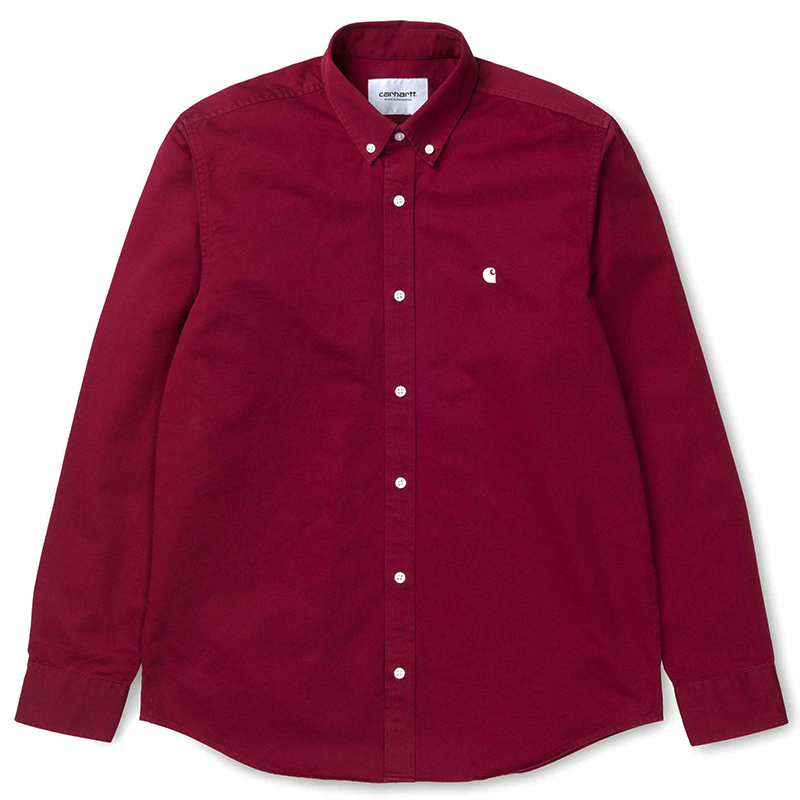Carhartt Madison Shirt Mulberry/Wax