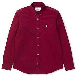 Carhartt Madison Shirt Mulberry/Wax
