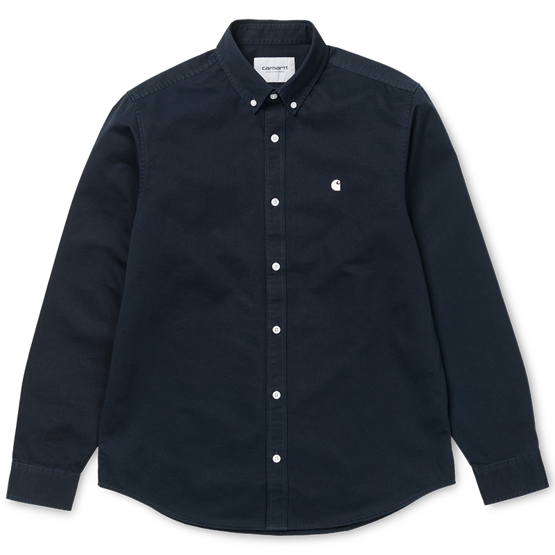 Carhartt Madison Shirt Dark Navy/Wax
