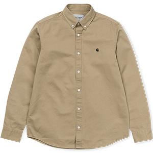 Carhartt Madison Shirt Leather/Black