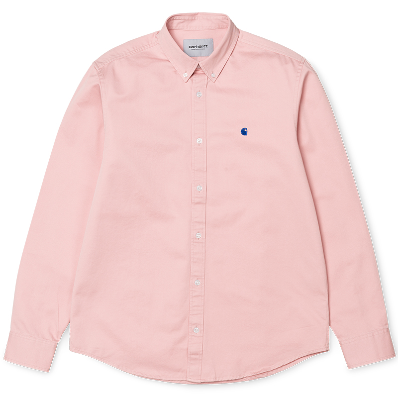 Carhartt Madison Shirt Soft Rose/Sapphire