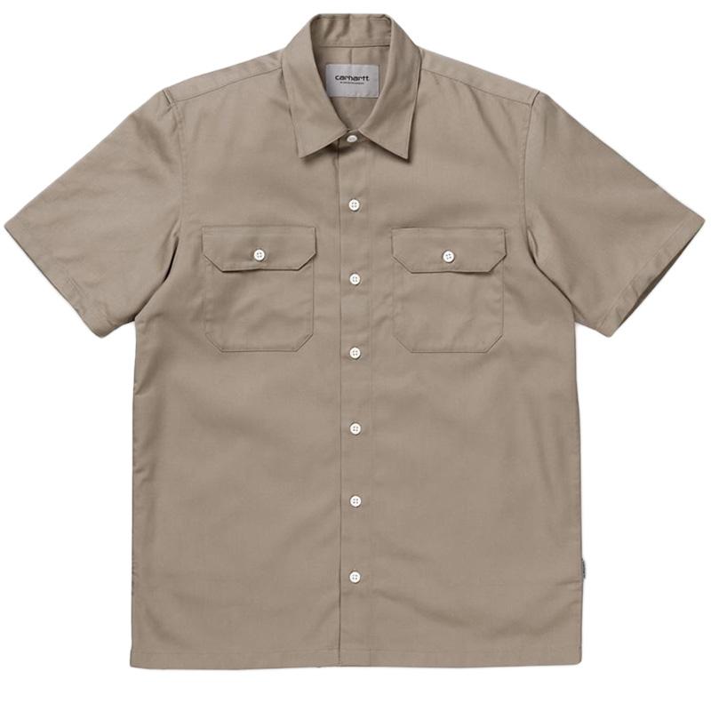 Carhartt Master Shortsleeve Shirt Wall Rinsed