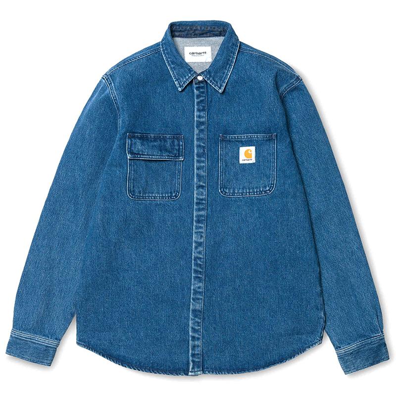 Carhartt Salinac Shirt Jacket Blue