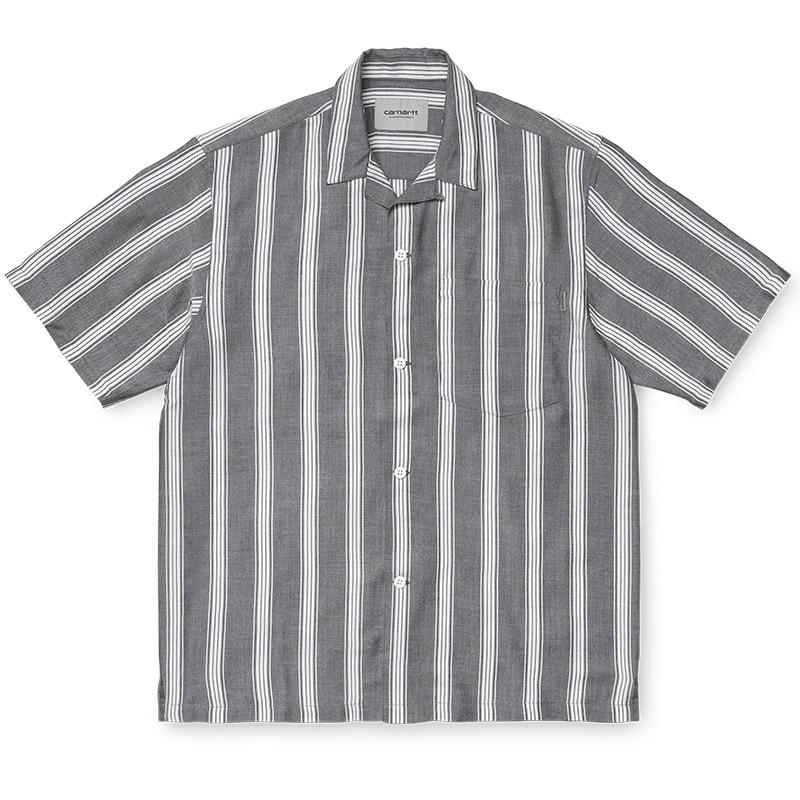 Carhartt WIP Chester Shirt Chester Stripe/ Black