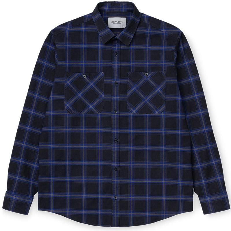 Carhartt WIP Darren Longsleeve Shirt Lapis