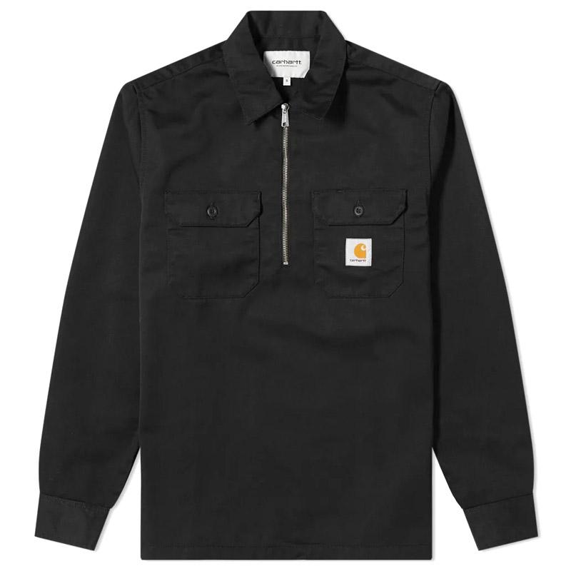Carhartt WIP Ilford Longsleeve T-Shirt Black Rinsed