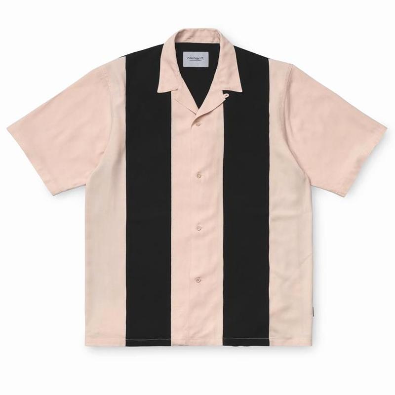 Carhartt WIP Lane Shirt Powdery/Black