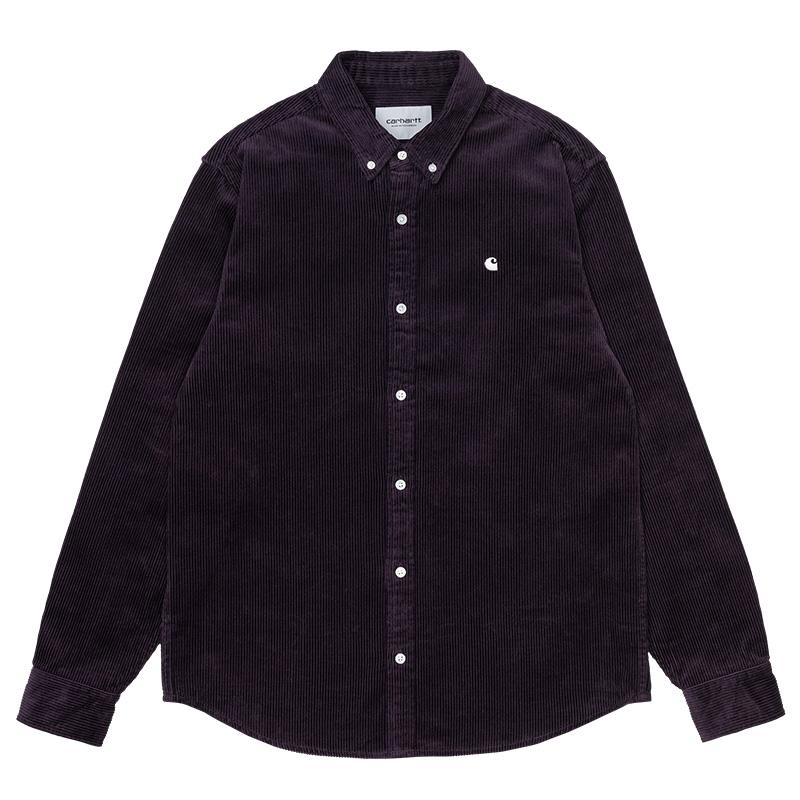 Carhartt WIP Madison Cord Shirt Dark Iris/Wax