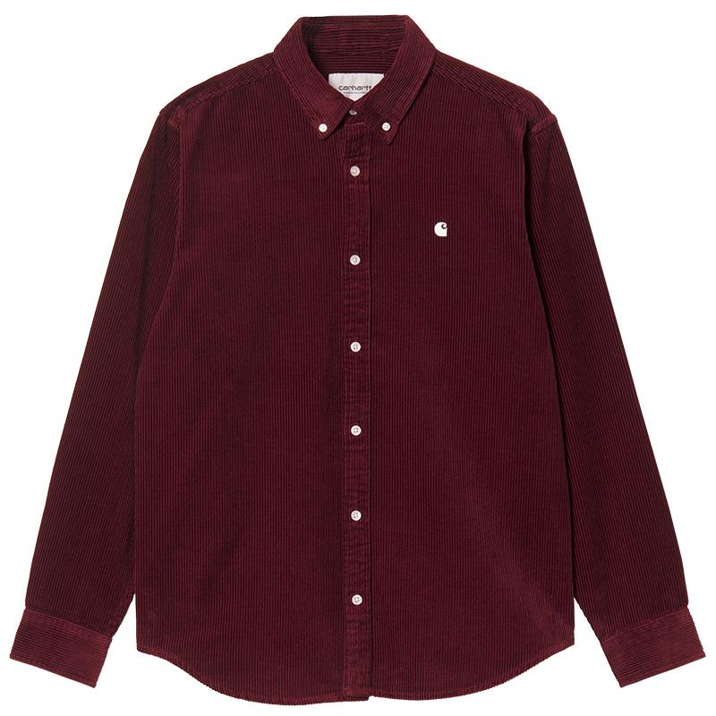 Carhartt WIP Madison Cord Shirt Jam/Wax