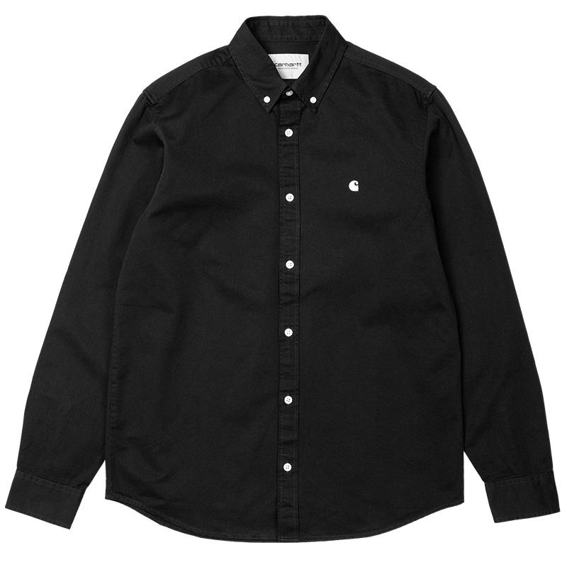 Carhartt WIP Madison Shirt Black/Wax