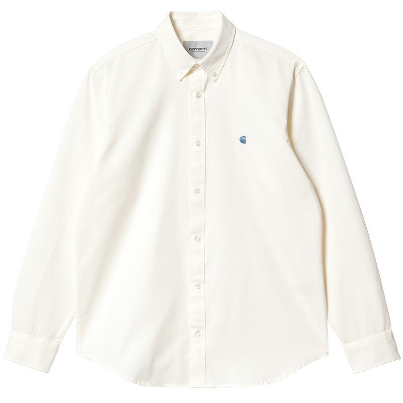 Carhartt WIP Madison Shirt Wax/Icesheet