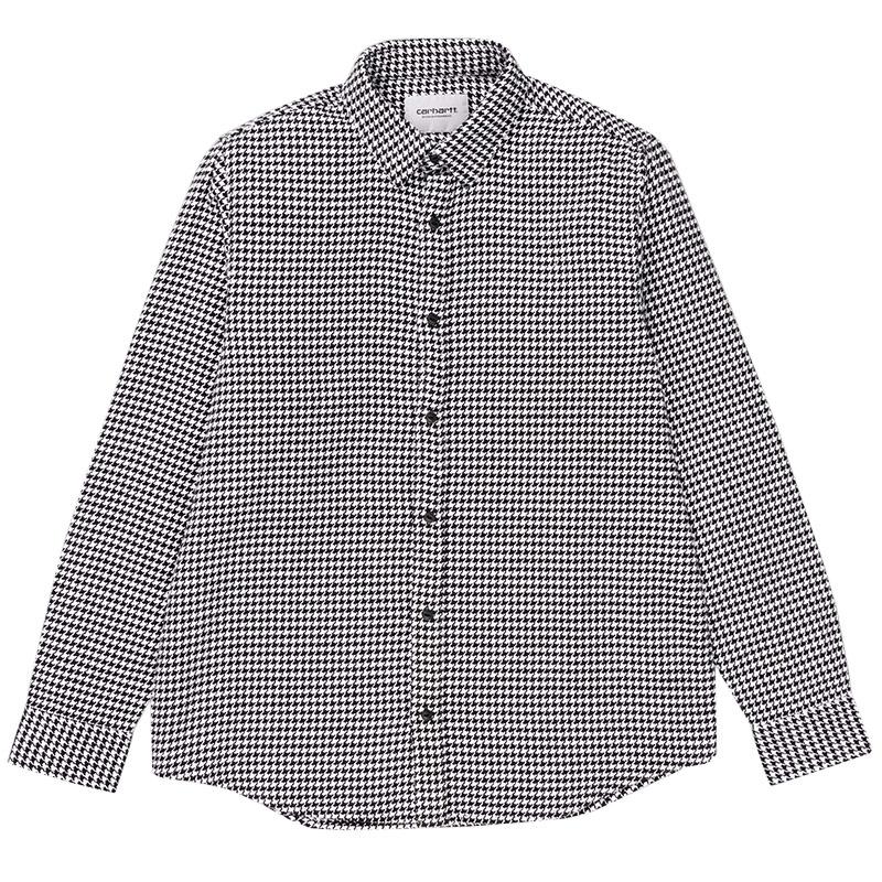Carhartt WIP Norvell Longsleeve Shirt Norvell Check White