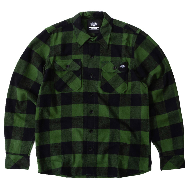 Dickies New Sacramento Shirt Pine Green