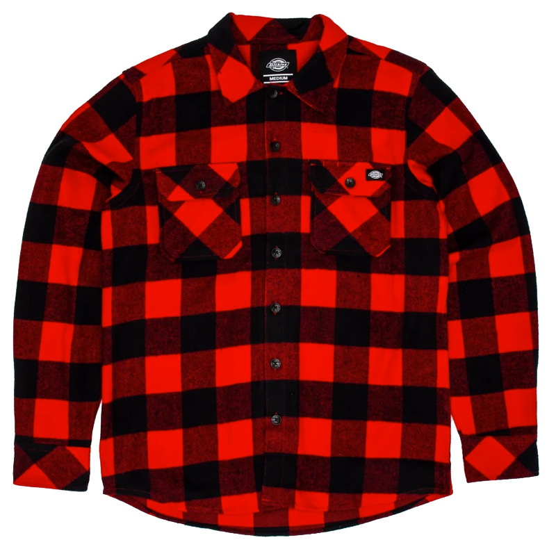 Dickies New Sacramento Shirt Red