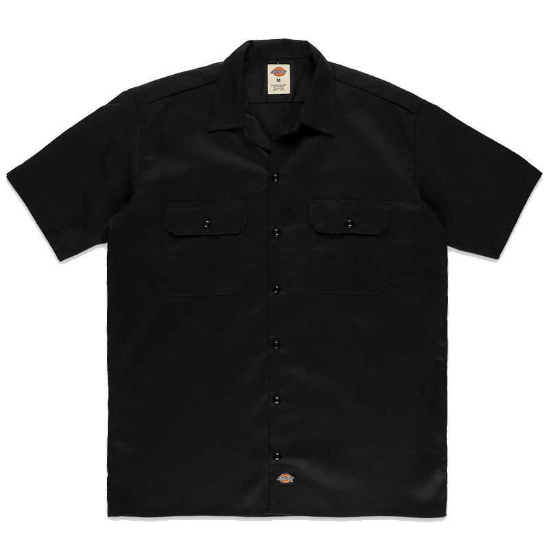 Dickies Work Shirt Black