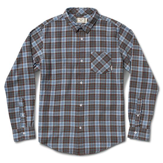 Fourstar Peterbilt Flannel Longsleeve Shirt Indigo