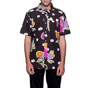 HUF Botanica Floral Shirt Black