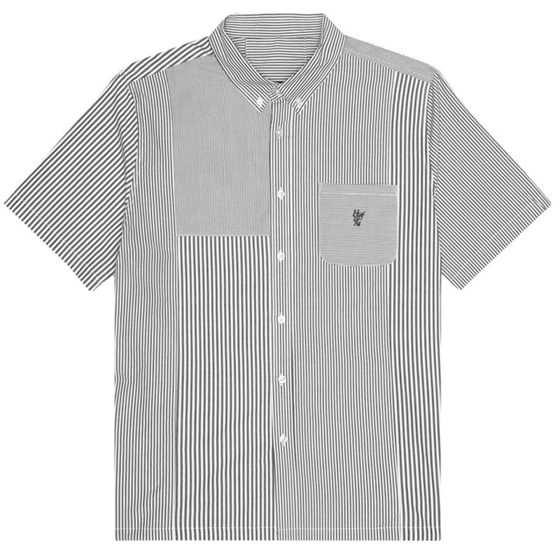 HUF Disorder Woven Shirt Black