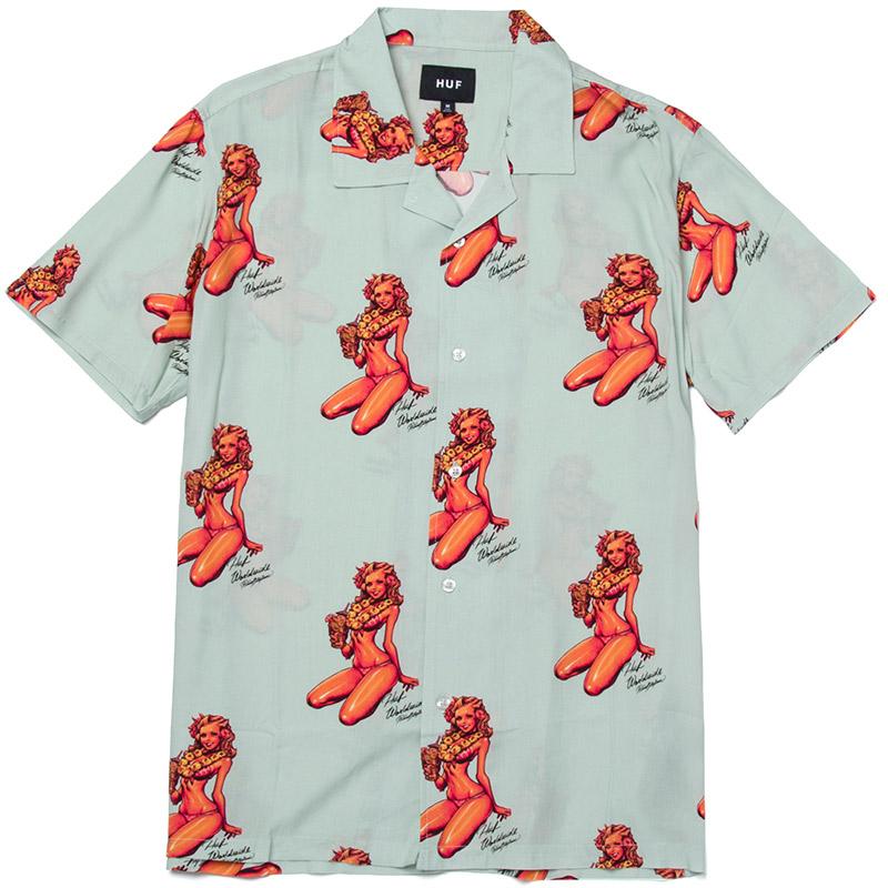 HUF Rockin Jelly Bean Shirt Mint