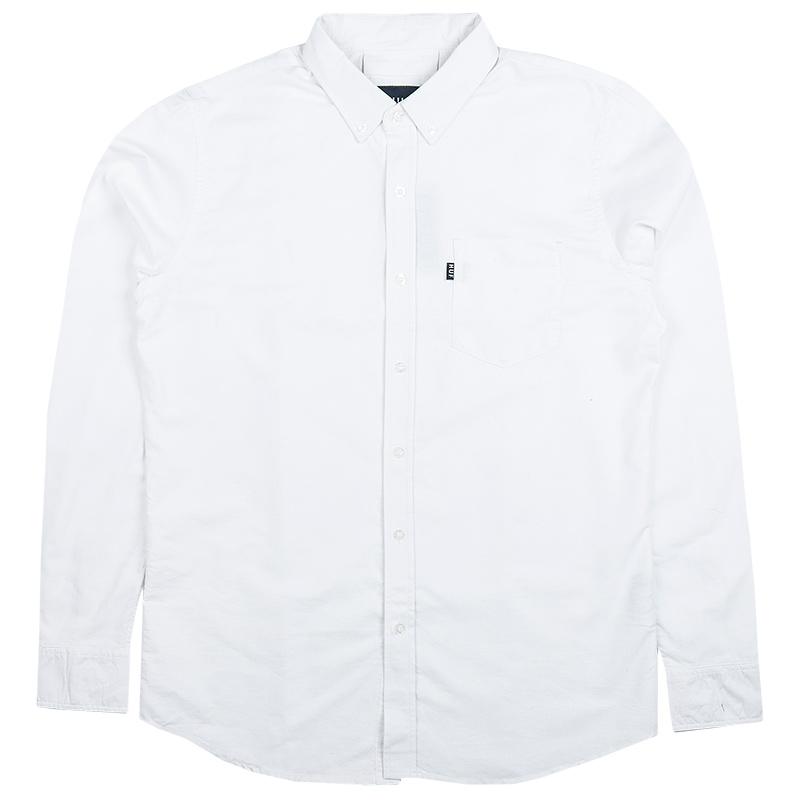 HUF Stanford Oxford Shirt White