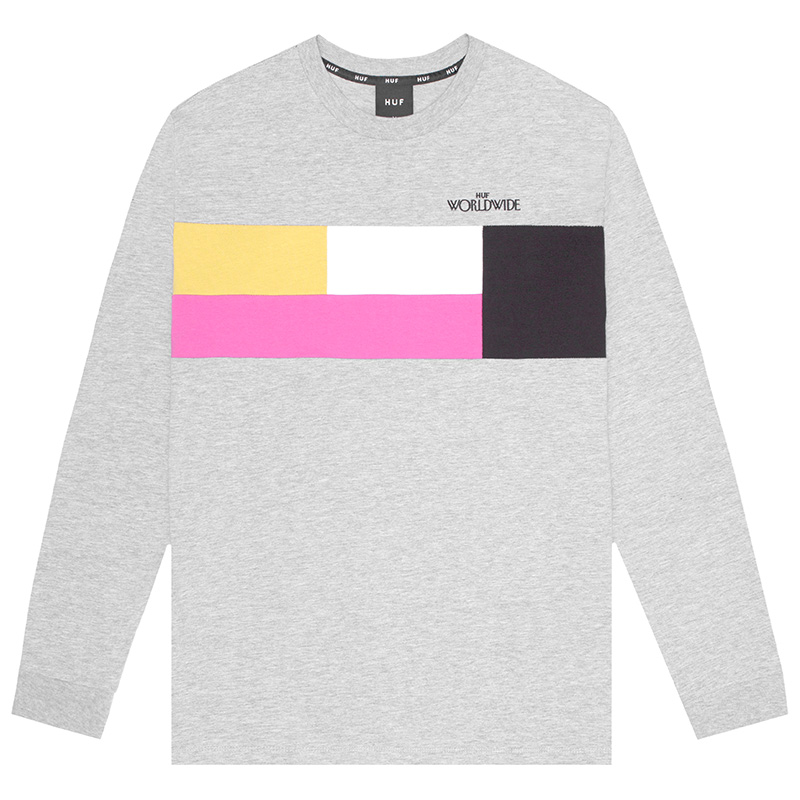 HUF Transition Longsleeve T-Shirt Grey Heather