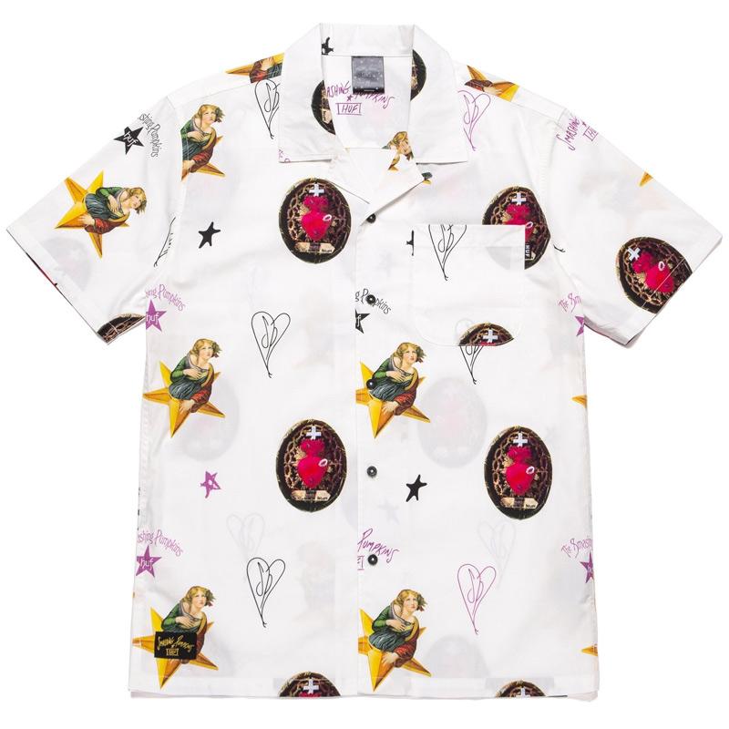HUF X Smashing Pumpkins Daydream Woven Top Shirt Natural