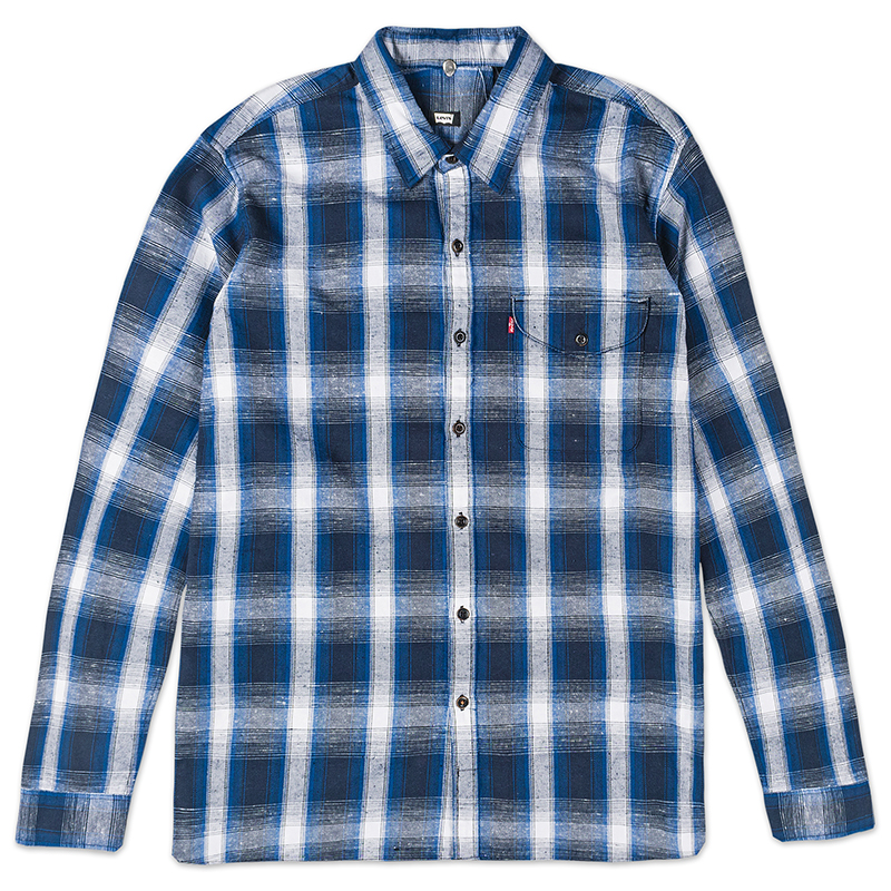 Levi's Reform Longsleeve Shirt Blue Plaid