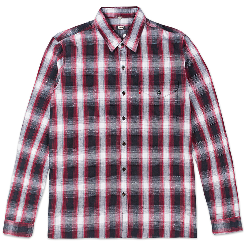 Levi's Reform Longsleeve Shirt Red Plaid
