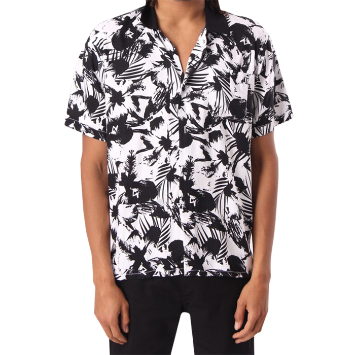 Obey Nate Woven Shirt White Multi