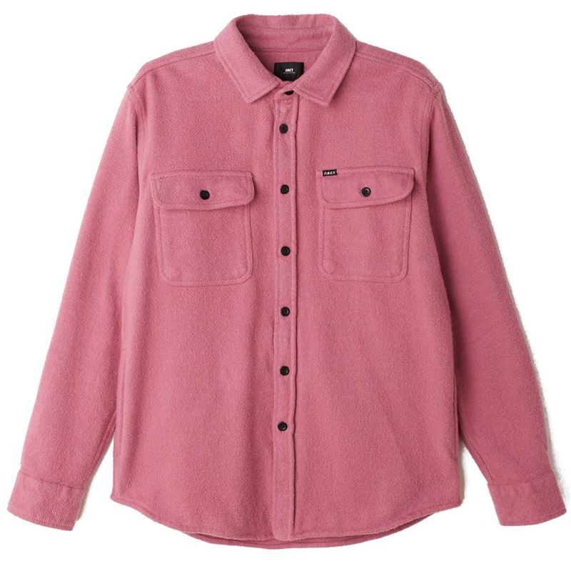 Obey Outpost Woven Shirt Mauve