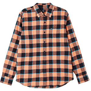 Obey Ventura Woven Shirt Coral Multi