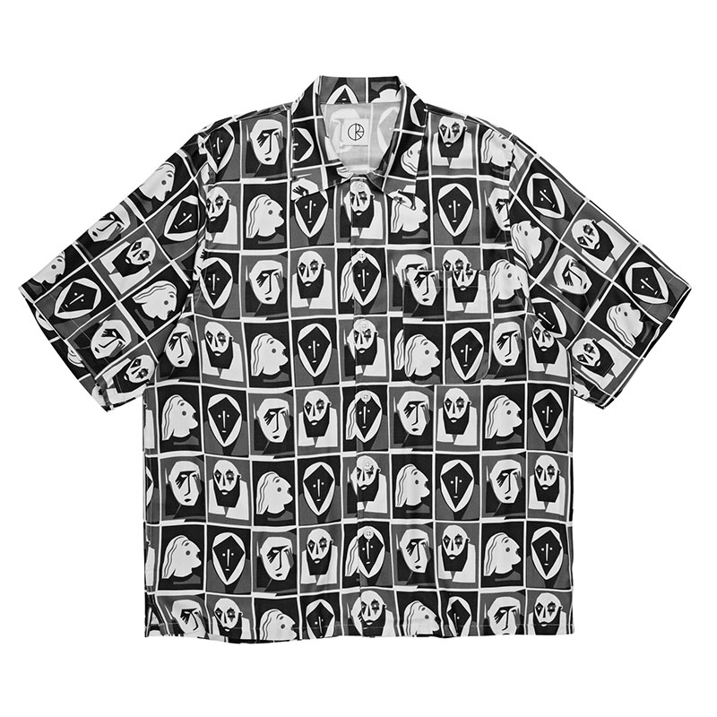 Polar Art Shirt Selfie Black