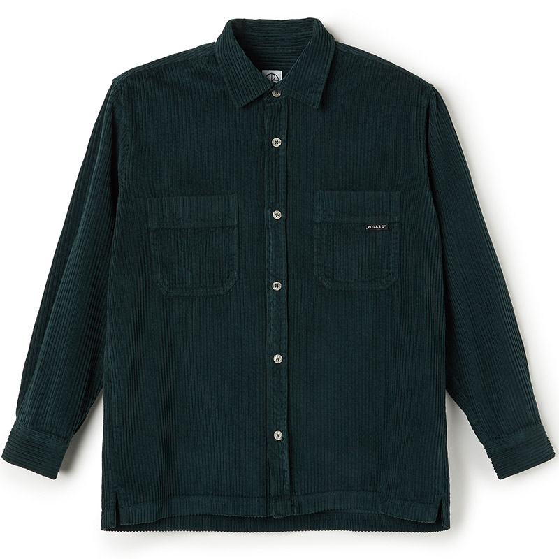 Polar Cord Shirt Dark Green