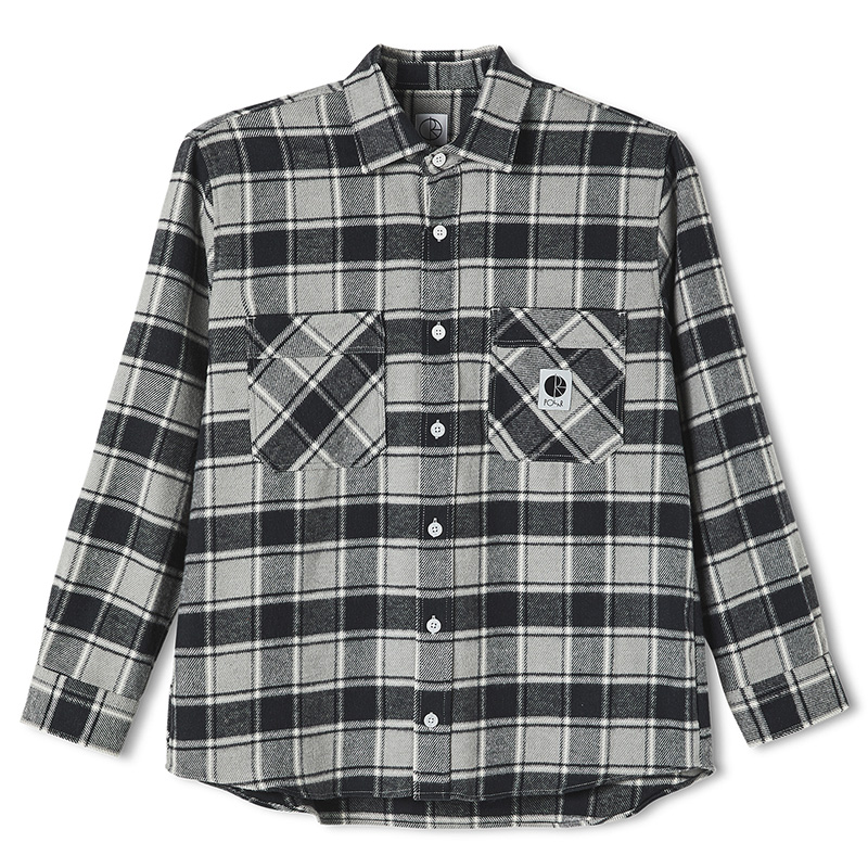 Polar Flannel Shirt Black