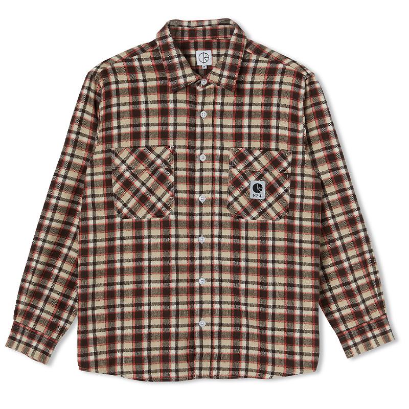 Polar Flannel Shirt Brown