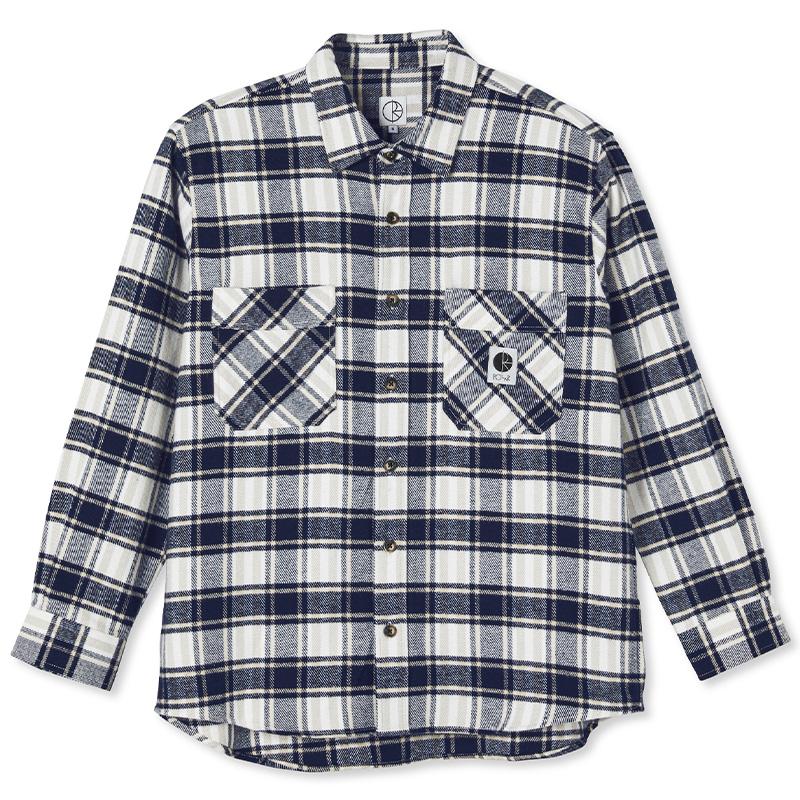 Polar Flannel Shirt Navy