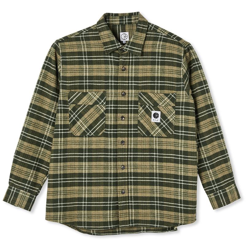 Polar Flannel Shirt Uniform Green