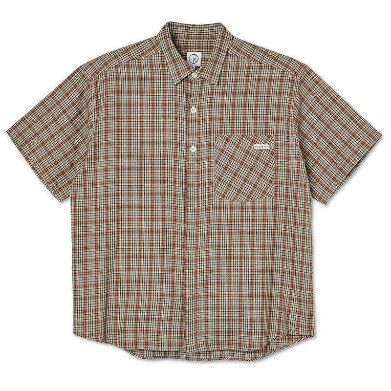 Polar Mitchell Flannel Shirt Brown