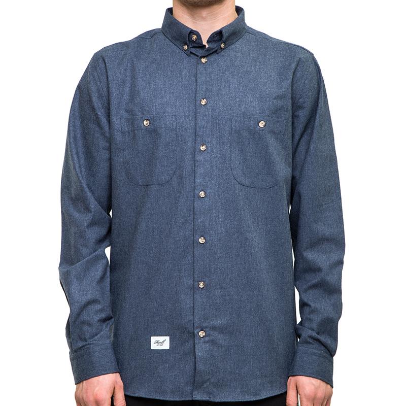 Reell Nordic Shirt Dark Blue