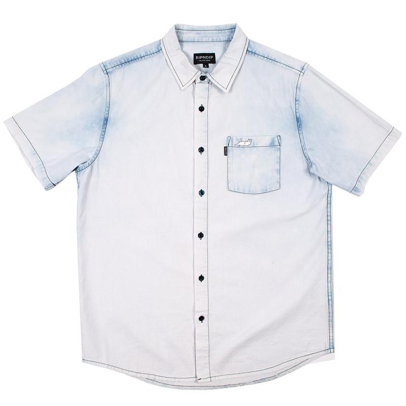 RIPNDIP Castanza Shirt Indigo