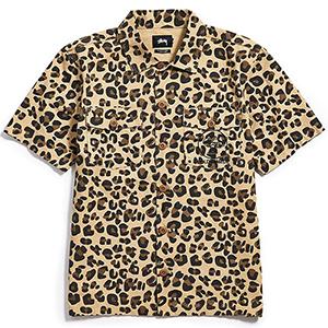 Stussy Bdu Shirt Leopard