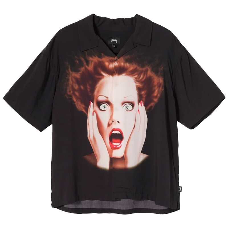 Stussy Harumi Girl Shirt Black