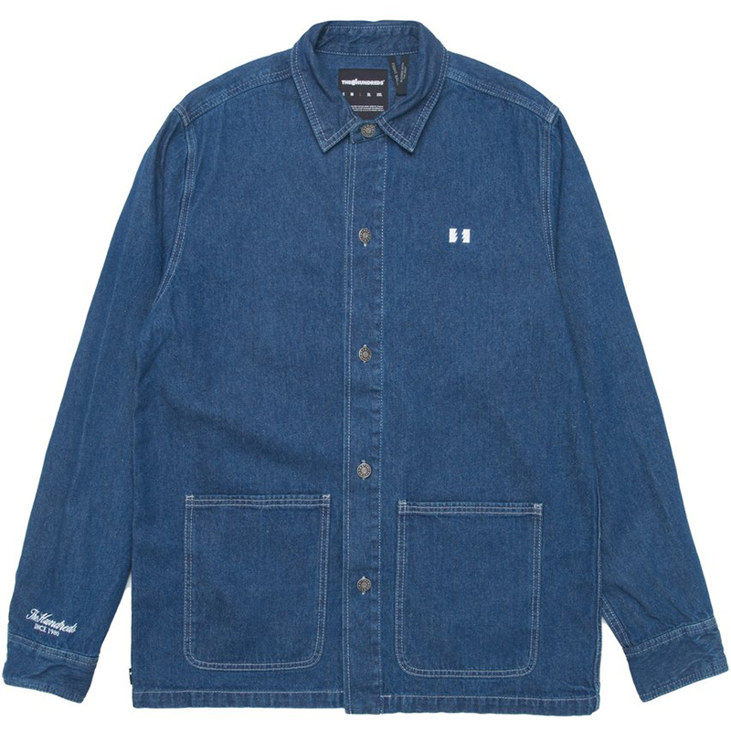 The Hundreds Conrad Shirt Indigo