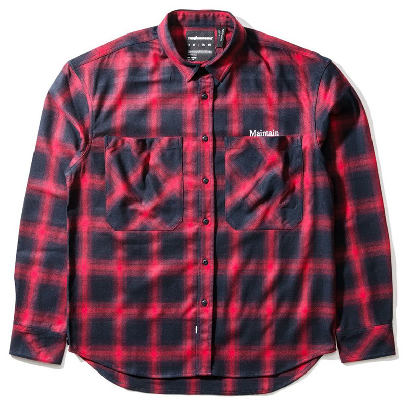 The Hundreds Ese Shirt Red