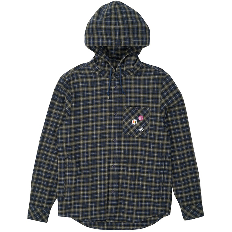 The Hundreds Highsmen Shirt Navy