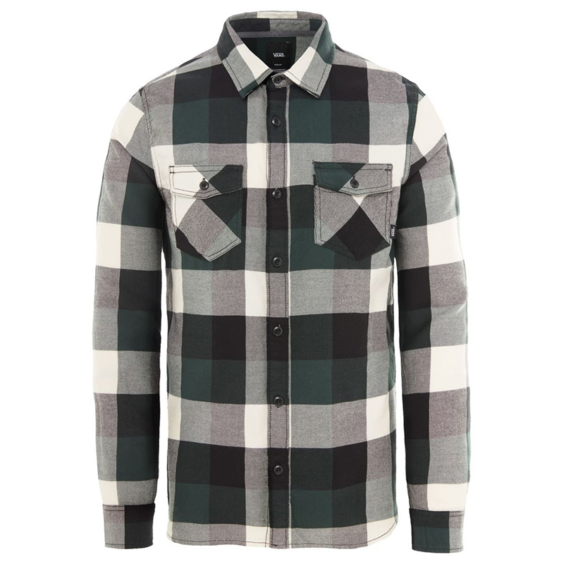 Vans Box Flannel Shirt Darkest Spruce