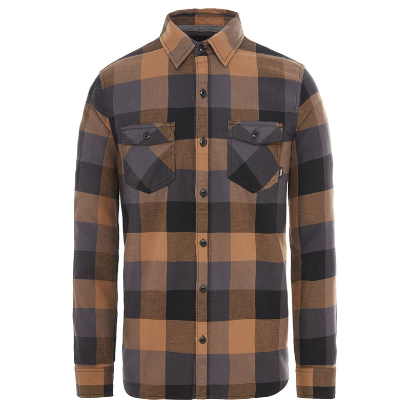 Vans Box Flannel Shirt Dirt/Black